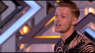 "Jordan Rabjohn: He Amazes Judges With His ""Cheesy Song"" - The X Factor UK 2017"