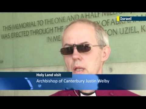 Archbishop of Canterbury visits Israel: leader of Anglican Church hails from Jewish family