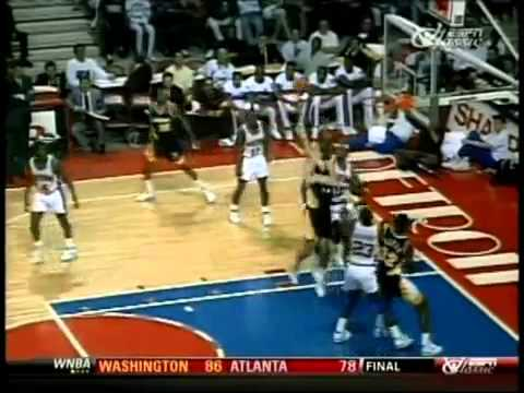 Dennis Rodman Gets 34 Rebounds A Career High   Highlights {RARE} {YT}