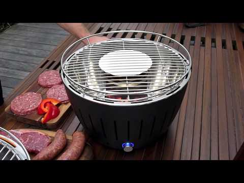 How to use the lotusGrill® BBQ