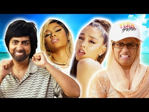 Nicki Minaj, Ariana Grande - Bed | My Parents React (Ep. 29)