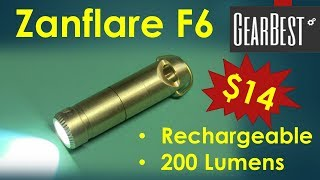 Zanflare F6 200 Lumen Flashlight from GearBest