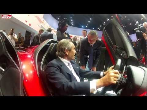 Aventador J & Jacky Ickx Lambo Jota Premiere Geneva 2012 One-off New Lamborghini sport auto