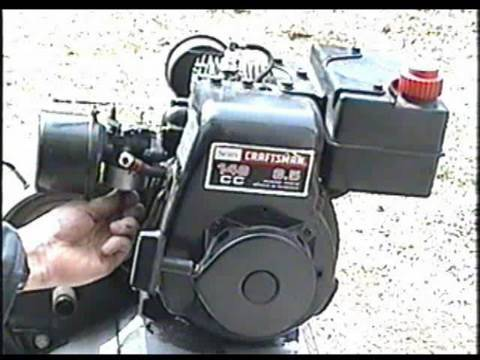 Carburetor Clean & Rebuild on 3.5 HP Tecumseh Engine Part 2 of 2