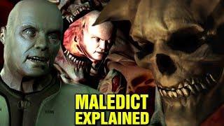 DOOM: ORIGINS - BETRUGER MALEDICT EXPLAINED - DOOM 3 LORE AND HISTORY EXPLORED