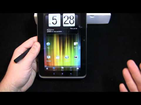 HTC EVO View 4G Unboxing