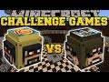 Minecraft: SSUNDEE VS CAPTAINSPARKLEZ CHALLENGE GAMES - Lucky Block Mod - Modded Mini-Game