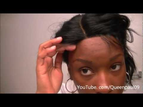 206  Wig Review   Model Model Deep Invisible Part Lace Front Wig