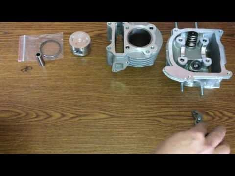 How to Install 139QMB / 1P39QMB big bore installation 50cc/70cc/80cc/90cc/100cc Install   Part 1