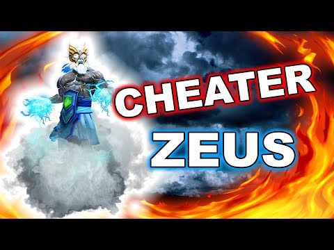 Dota 2 CHEATERS - Zeus with AUTO CREEP BLOCK + other scripts!