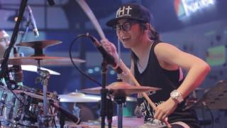 Download Lagu [LIVE] 2017.07.09 羅小白 S.white - Stronger (Kelly Clarkson drum cover) Gratis STAFABAND
