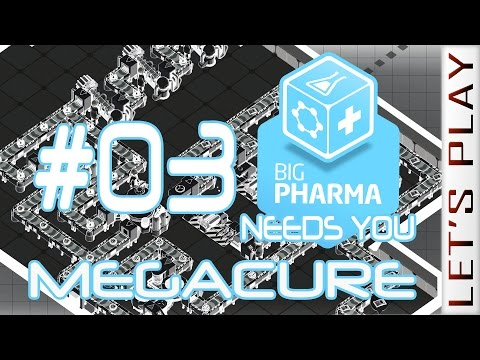 Big Pharma #03 [Appetite Suppressant] Megacure - Let's Play