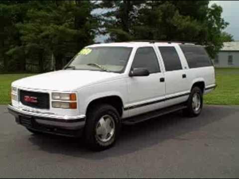 1997 GMC Suburban 1500 SLT 4WD - YouTube