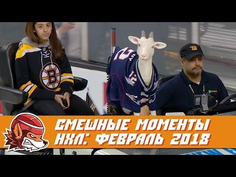 Самые курьёзные и смешные моменты НХЛ: февраль 2018