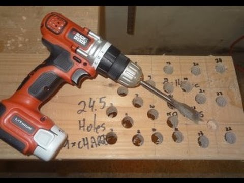 Black and Decker cordless drill LDX112c