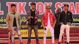 Sensational Tik tok stars live concert with Team07 in ,Ruhaan Arshad,Abdul0722, #Team07 in Hyderabad