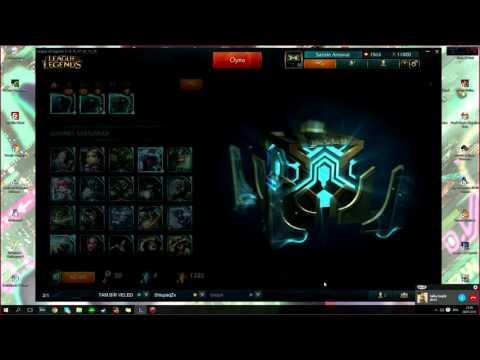 League of Legends : Fantastik 52 Hextech Kutu açilimi
