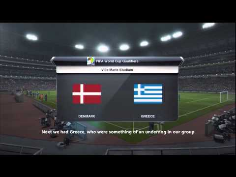 PES 2013 - The Become A Legend Show - Episode Eleven - 'World Cup Qualifying'