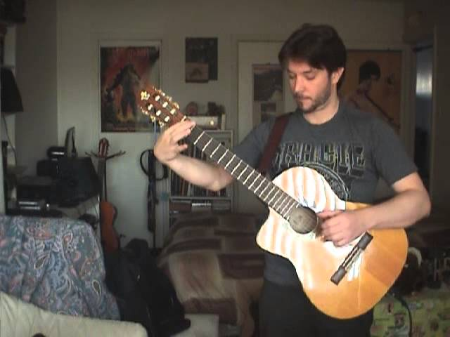 Theology / Civilization classical guitar cover by Fred A
