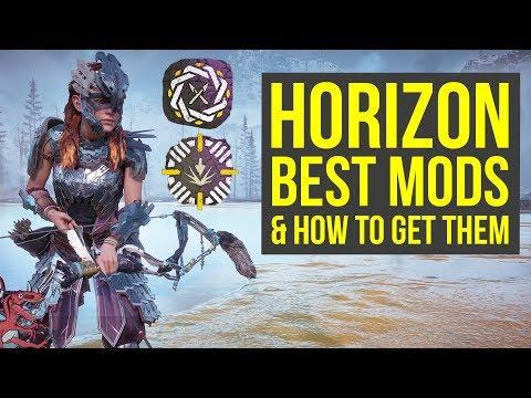 Horizon Zero Dawn Best Mods IN THE GAME & How To Get Them (Horizon Zero Dawn Frozen Wilds)