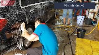 Rửa Xe Ô Tô Chuyên Nghiệp Tại Tân Bình