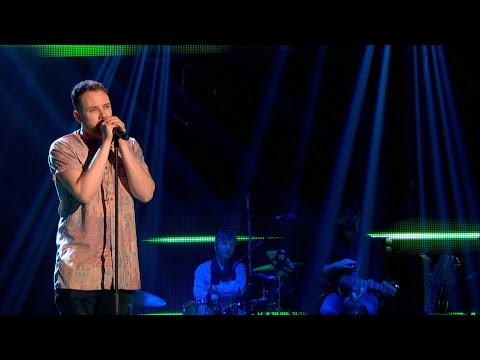Clark Carmody performs 'I'm Not The Only One' - The Voice UK 2015: Bli...