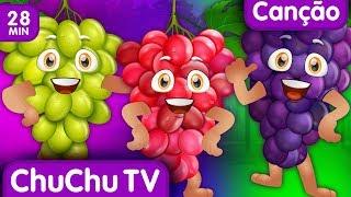 U U U U UVA | Canções Infantis Em Português | ChuChu TV