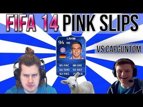 INSANE TOTY PINK SLIPS vs CAPGUNTOM   PHILIPP LAHM   FIFA 14 ULTIMATE TEAM