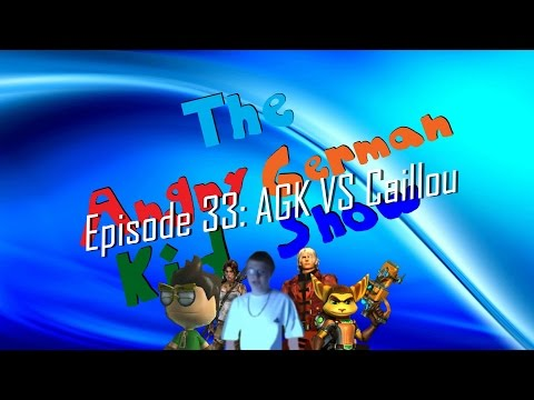 The Angry German Kid Show - Episode 33: Agk Vs Caillou video
