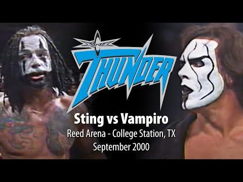 WCW Thunder - Sting vs. Vampiro - Reed Arena September 2000