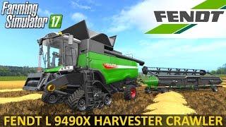 Farming Simulator 17 FENDT L 9490X HARVESTER CRAWLER