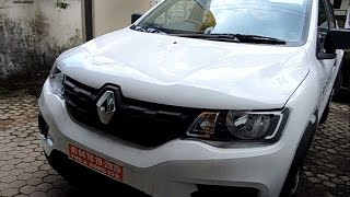Renault Kwid Ice Cool White Colour