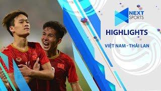 Highlights | U23 Việt Nam vùi dập U23 Thái Lan 4 bàn không gỡ | Nextsports
