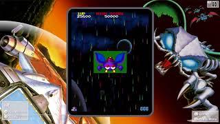 Namco Museum Galaga 88 gameplay