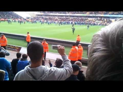 wolves pitch invasion against burnley 27/04/13