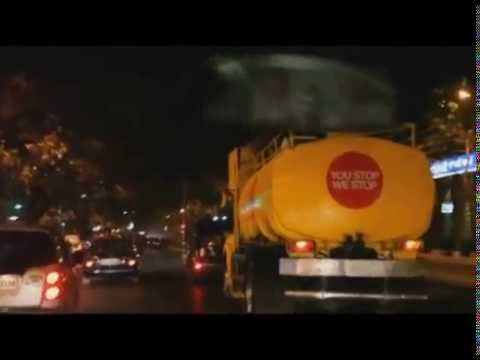 This is what happens in India if you Urinate in Public - The Pissing Tanker  video