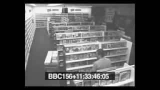 Camera an ninh quay được ma có thật 100% ma trêu nhân viên siêu thị