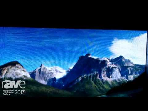 ISE 2017: SiliconCore Introduces LISA LED Display
