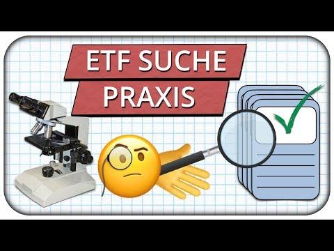 So findest du den richtigen ETF -  ETF Suche in der Praxis mit Just ETF