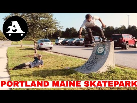 All I Need skateboards Portland Maine Skatepark