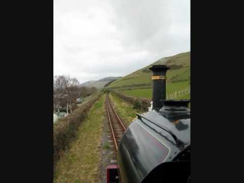 Ballast Train on the Talyllyn Railway