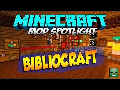 Minecraft Mods: BiblioCraft [Forge][1.7.10](Act.)
