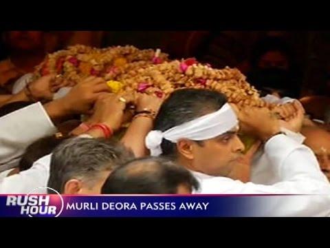 Congress Veteran Murli Deora Passed Away In Mumbai Today