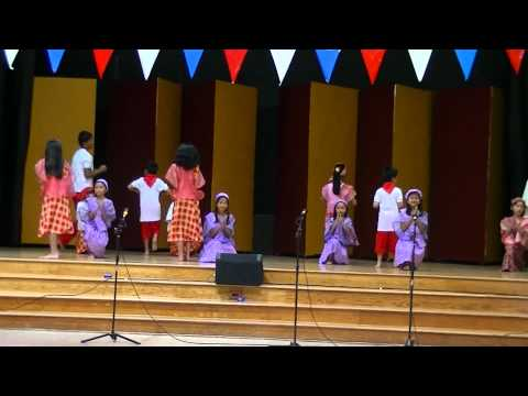 Itik Itik Dance Performance By Folsom Kids At St John Parish ( 09-16-2012) video