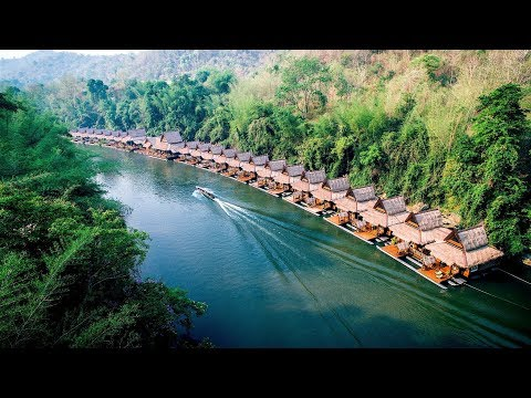 Asia's Top Floating Hotel in Kanchanaburi, Thailand -- The FloatHouse River Kwai Resort.