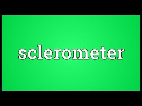 Header of sclerometer