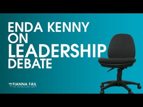 See Enda Kenny explain why he isn't participating in tonight's Party Leaders' Debate on TV3 hosted by Vincent Browne.
