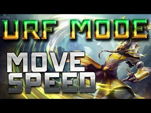 League of U.R.F Mode - Move Speed OP