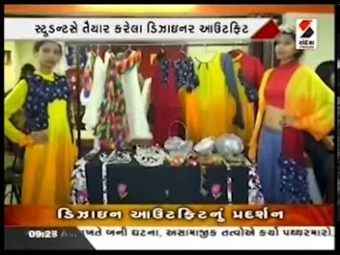 Fashion Exhibition at Ahmedabad by INIFD Students    Sandesh News