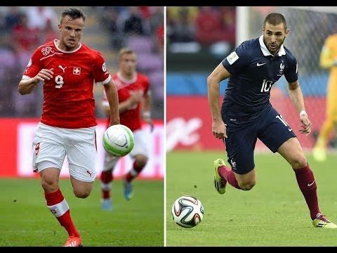 (TF1)Suisse-France CDM 2014